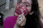 Glee of lipstick?