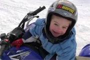 Biker toddler