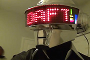 Home made Daft Punk helmets