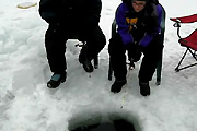 Crazy Ice Fishing