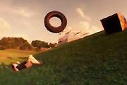 Tractor tire nutshot