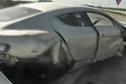 Aston Martin Rapid Crash