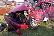 Car crash Russian style