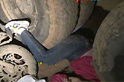 Truck wheel death
