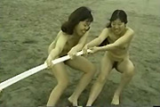 Naked tug of war