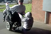 Wheelchair wheely fail