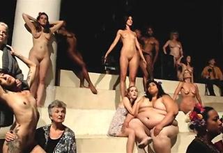A full nude opera