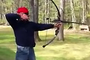 bow converted to a 12ga shotgun