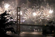 75th birthday fireworks