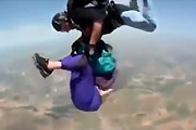 Pensioner skydive goes very wrong