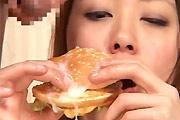 Fastfood bukkake