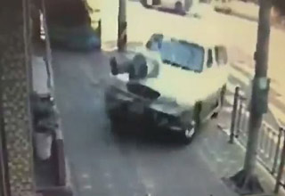 Hit by a car
