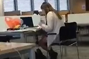 Girl Caught Watching Dirty Videos In The Library