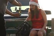 Sexy Santa Poops Herself