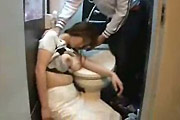 Girl Passed Out on Toilet