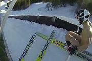 Nude Ski Jumping