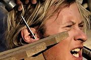 Hammer And Nail Piercing