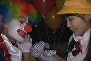 School Girl Abused By Clown