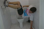 What Not To Do In A Public Restroom