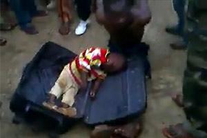 Baby Boy In Suitcase Paedophile