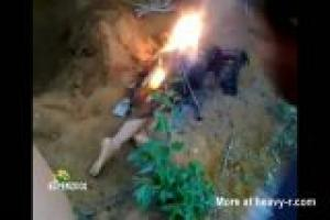 Rape Victim Burned
