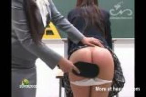 Schoolgirl Spanked By Teacher