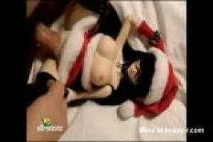 Mrs Santa Fuck Doll