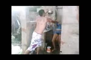 domestic violence in ghetto