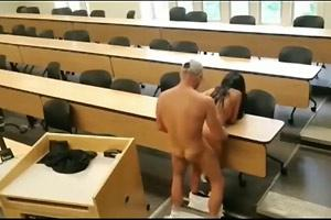 Couple Caught In Classroom