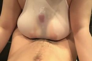Inside Shirt Tit Job