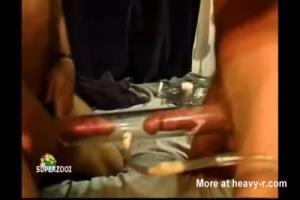 Drunk Pantyless Blonde