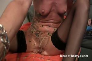 vomit and dildo