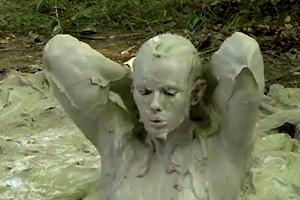Naked Mud Bath