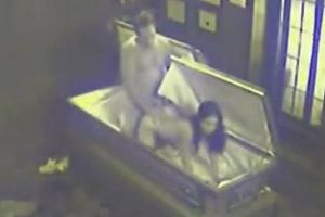 Sex In Coffin