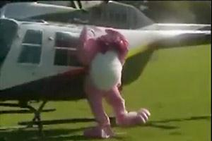 Easter Bunny Decapitated By Helicopter