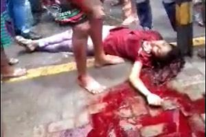 Girl Dead In Huge Pool Of Blood