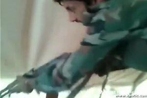 Soldier High On Drugs Executes His Comrade