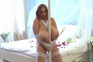 Huge Tits On A Bride