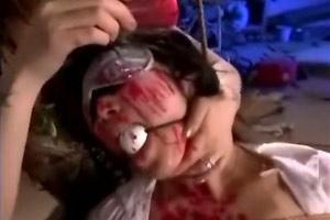 Asian Mistress Torturing Slave