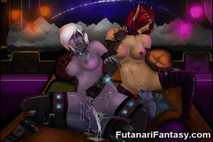 3D Futanari Elfs and Hermaphrodite Teens!