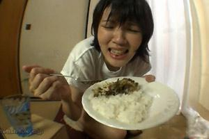 Eating Shitty Rice