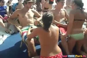 Cancun Blowjob Games Party