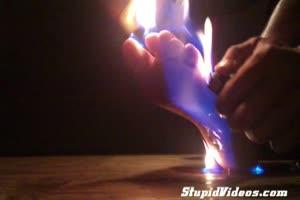 foot fire torture