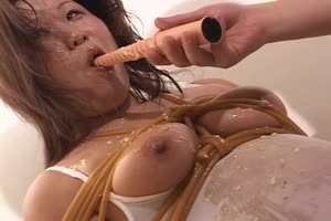 Slave Girl Forced Puking