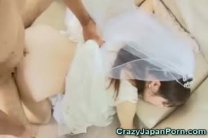 Groomsman Fucks Hypnotized Asian Bride!