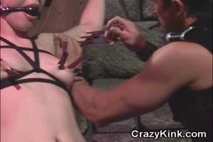 Slave Slut Dominated and Facialized!