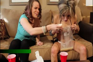 Sexy Girls Puke Contest
