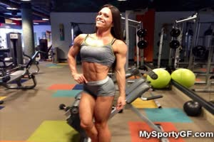 Fit Hotties with Big Muscles!