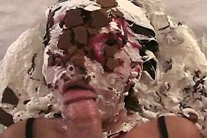 Messy Cake Face Blowjob