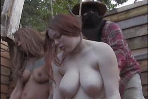 Two Sluts Hanging